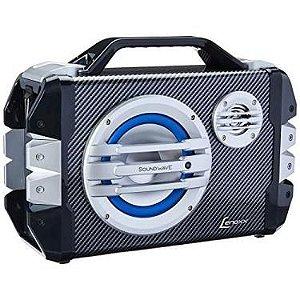 Caixa Amplificada Lenoxx CA305 100W, Bluetooth, USB, SD Card, Entrada Para Microfone, Bateria Interna.