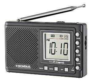 Rádio Portátil Mondial RP-04 10 Faixas