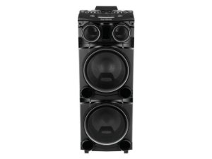 "Caixa Amplificada Gradiente GCA-103 Power Bass 1500W 2x12"", Bluetooth, USB, 2 Woofer 12"" + 2 Tweeter"