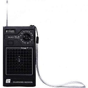 Rádio Portátil Motobras RMPF25, AM/FM, Entrada para Fone de Ouvido