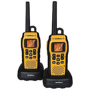 Rádio Comunicador Intelbras Twin Water Proof 9,6km Amarelo/Preto