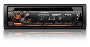 Auto Rádio Pioneer DEH-S4280BT, CD Player, Bluetooth®, Entrada USB, Pioneer Smart Sync.