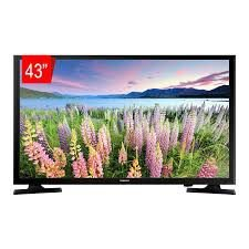 "TV LED Samsung 43"" 43J5290 FHD Smart, 2 HDMI, 1 USB, Modo Filme, Modo Natural, Web Browser, Espelhamento de Tela."