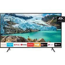 "TV LED Samsung 75"" 75RU7100 UHD 4K Smart, Bluetooth, HDMI, USB, Controle Remoto Único, HDR Premium"