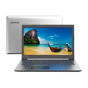"Notebook Lenovo IdeaPad 330 i3-7020U 4GB 1TB Linux 15,6"" HD 81FDS00100 Prata"