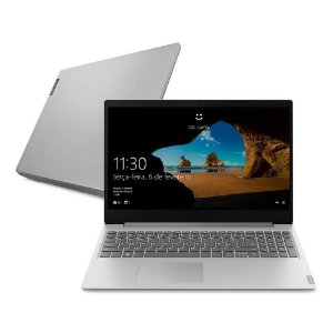 "Notebook Lenovo Ultrafino ideapad S145 Celeron 4GB 500GB 15.6"" Prata"