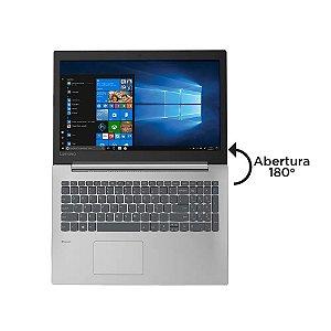 """Notebook Lenovo ideapad 330-15IKB Intel Core i3-7020U 4GB 1TB Windows 10 15.6"""" HD 81FE000QBR Prata"""