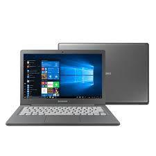 Notebook Samsung Flash F30 Intel Celeron N400, Windows 10 Home, 4GB, 64GB SSD, Grafite