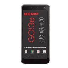 Smartphone Semp GO 3e 5035 PRETO, Android 8.1, Oreo,Dual chip, Processador Quad Core , Câmeras traseira 8 MP e Frontal 5MP , Tela 5'', Memória...