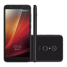 Smartphone TCL L9 5159J PRETO, Android Oreo,Versão Go Dual chip, Processador Quad Core , Câmeras com flash 13MP + 8MP frontal, Tela 5.34'', Preto...