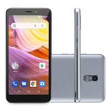 Smartphone Multilaser MS50G, Android 8.1, Dual chip, Câmera 8MP, frontal 5MP, 5.5'', 8GB + Cartão SD 32GB, 3G
