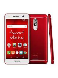 """Smartphone Positivo S531 Twist Metal, Android Oreo Go Edition, Dual chip, Câmera de 8MP, frontal de 8MP, Tela 5.2"""", 32GB, 3G, Vermelho"""