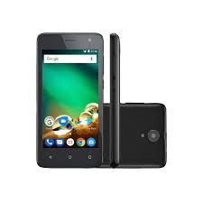 Smartphone Multilaser MS45 + MICRO SD 32GB, Android 7.0, Dual chip, Câmera 8MP, frontal 5MP, Tela 4.5'', 8GB, 4G, Preto