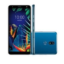 "Smartphone LG K12+, Android 8.1, Dual Chip, Câmera 16 MP e Frontal 8MP, 5.7"", 32 GB, RAM 3 GB, 4G. Azul"