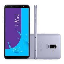 "Smartphone Samsung Galaxy J8, Android 8.0, 64GB, RAM 4GB, 6.0"", Câmera 16MP+5MP, Frontal de 16MP com Flash, Dual Chip, 4G, Prata"