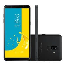 "Smartphone Samsung Galaxy J8, Android 8.0, 64GB, RAM 4GB, 6.0"", Câmera 16MP+5MP, Frontal de 16MP com Flash, Dual Chip, 4G, Preto"