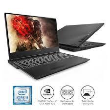 """Notebook Gamer Lenovo Legion Y530-15ICH Intel Core i5 8GB 1TB Placa de Vídeo Nvidia GeForce GTX 1050 4GB Windows 10 15.6"""" Full HD 81GT0000BR Preto"""