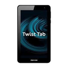 Tablet Positivo Twist Tab T770 16GB, Tela 7, Câmera Frontal 2MP, Wi-Fi, Android e Processador Quad Core de 1.5 GHz Cinza