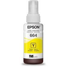 Refil Tinta Epson Amarelo T664420al