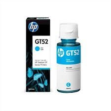 HP Garrafa de Tinta GT52 M0H54AL Ciano