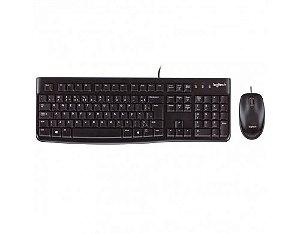 Combo Logitech Teclado e Mouse MK120