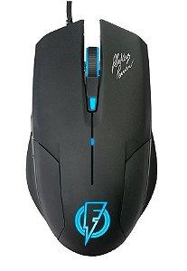 Mouse Gamer ELG Stream Flakes Power FLKM002 2400 DPI, Iluminação LED 7 Cores
