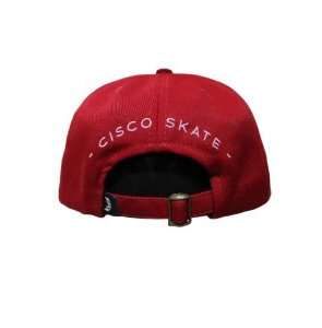 Boné Cisco Strapback Logo Red/White