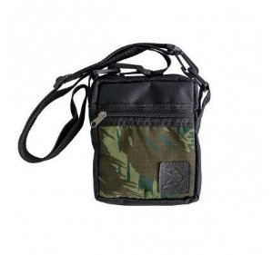 Shoulderbag Cisco Preto Camuflado