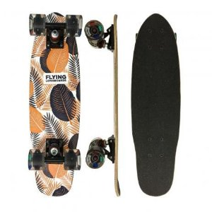 """Skate Cisco Flying Mini Cruiser Flowers  6,7"""" Longboards"""