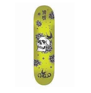 Shape Child Japan Skull Amarelo 7.75