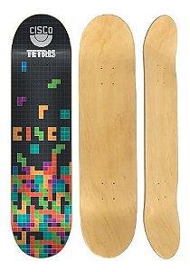 """Shape Marfim Cisco FN+R Brasão Tetris - 7,67"""""""