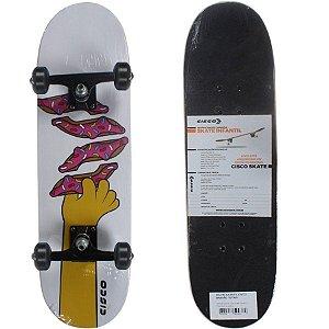 Skate Cisco Montado Infantil Donuts