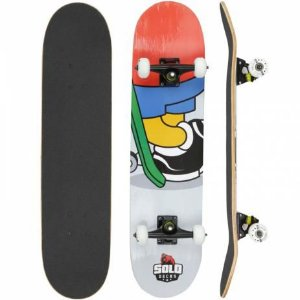"Skate Solo Montado Deck's Profissional Relax 8"""