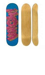 Shape Skate Urgh Skateboard 8.0 Float Donuts Marfim
