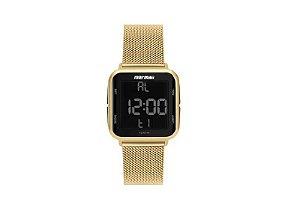 Relógio Digital Mormaii Digi Dourado