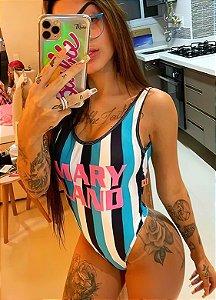 BODY MARYLAND COSTA U ROSA LISTRADO