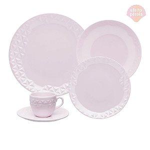 Aparelho de Jantar e Chá Mia Quartzo - Oxford