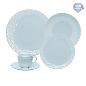 Aparelho de Jantar e Chá Mia Cristal - Oxford