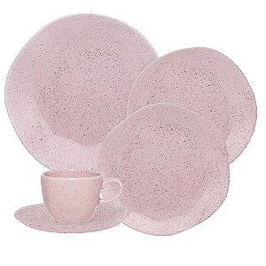 Aparelho de Jantar e  Chá Ryo Pink Sand- Oxford