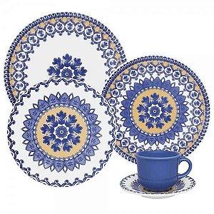 Aparelho de Jantar e  Chá Floreal La Carreta - Oxford
