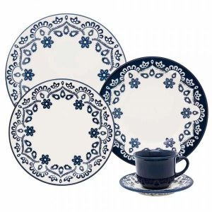 Aparelho de Jantar e  Chá Floreal Energy - Oxford