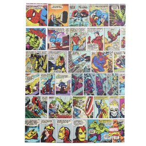 Quadro Canvas 50x70cm HQ Comics Color