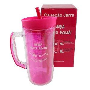 Canecão Jarra C/Infusor 1,3l Beba mais Água