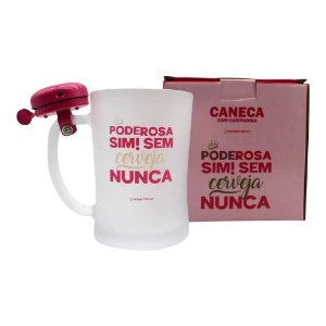 Caneca C/Campainha 650ml Poderosa