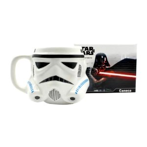 Caneca Formato 3D 500ml Stormtrooper Star Wars