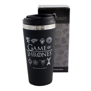 Copo Viagem Emborrachado 450ml  Game of Thrones