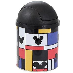 Lixeira Mickey Mouse 19x12x12cm