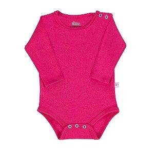 Body Bebê Manga Longa Pink - Colibri (Unidade)