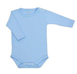 Body Bebê Manga Longa Azul - Colibri (Unidade)
