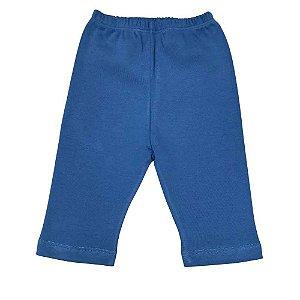 Calça em Algodão Egipcio - Azul Marinho Claro
